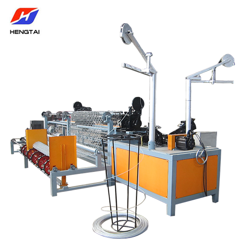 Double Wire Full Automatic Chain Link Fence Machine