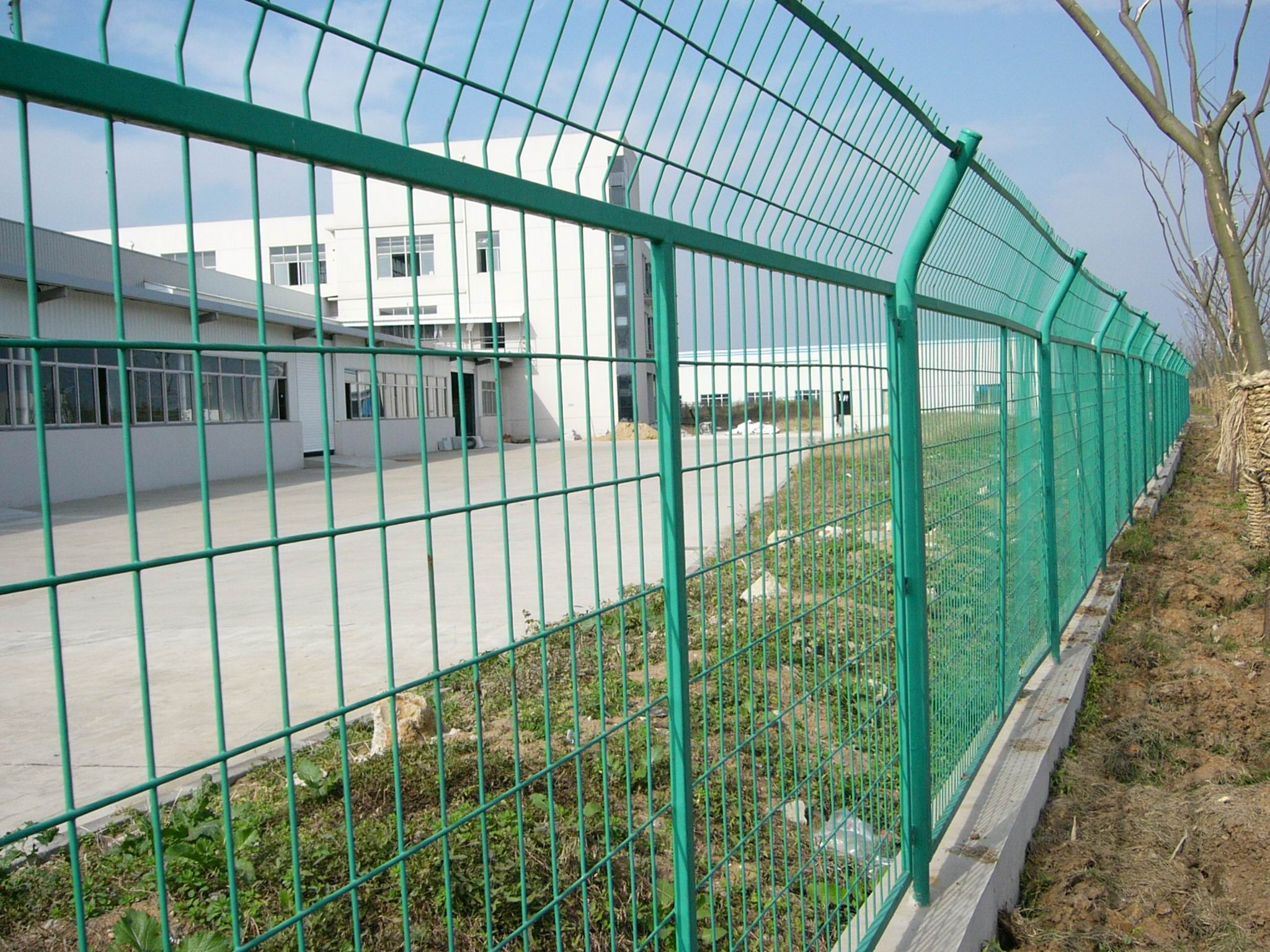 Automatic Welded Wire Mesh Fence Machine