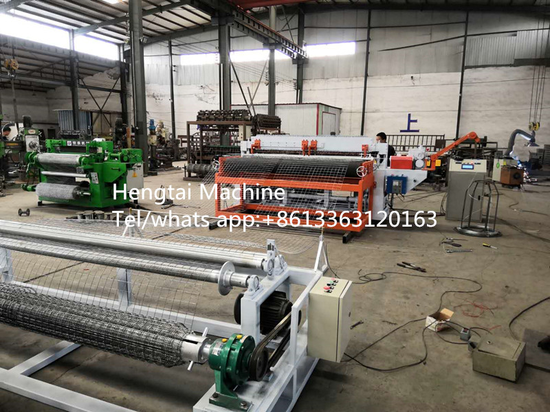 Automatic welded wire mesh machine in roll1