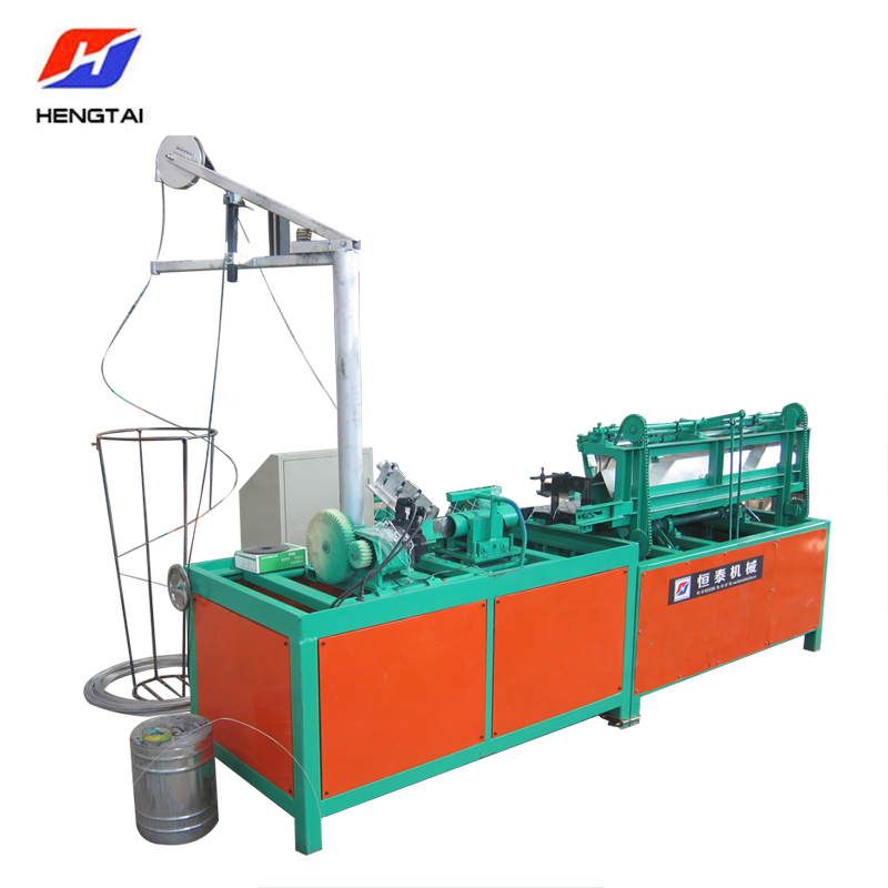 Single wire chain link fence machine fully automatic