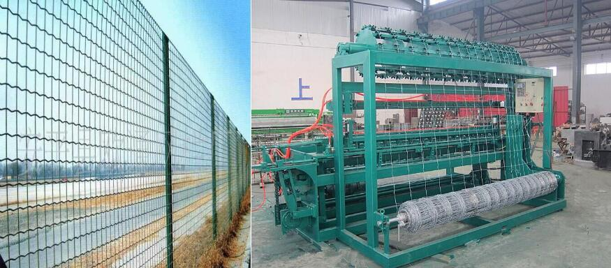 High quality Grassland fence machine