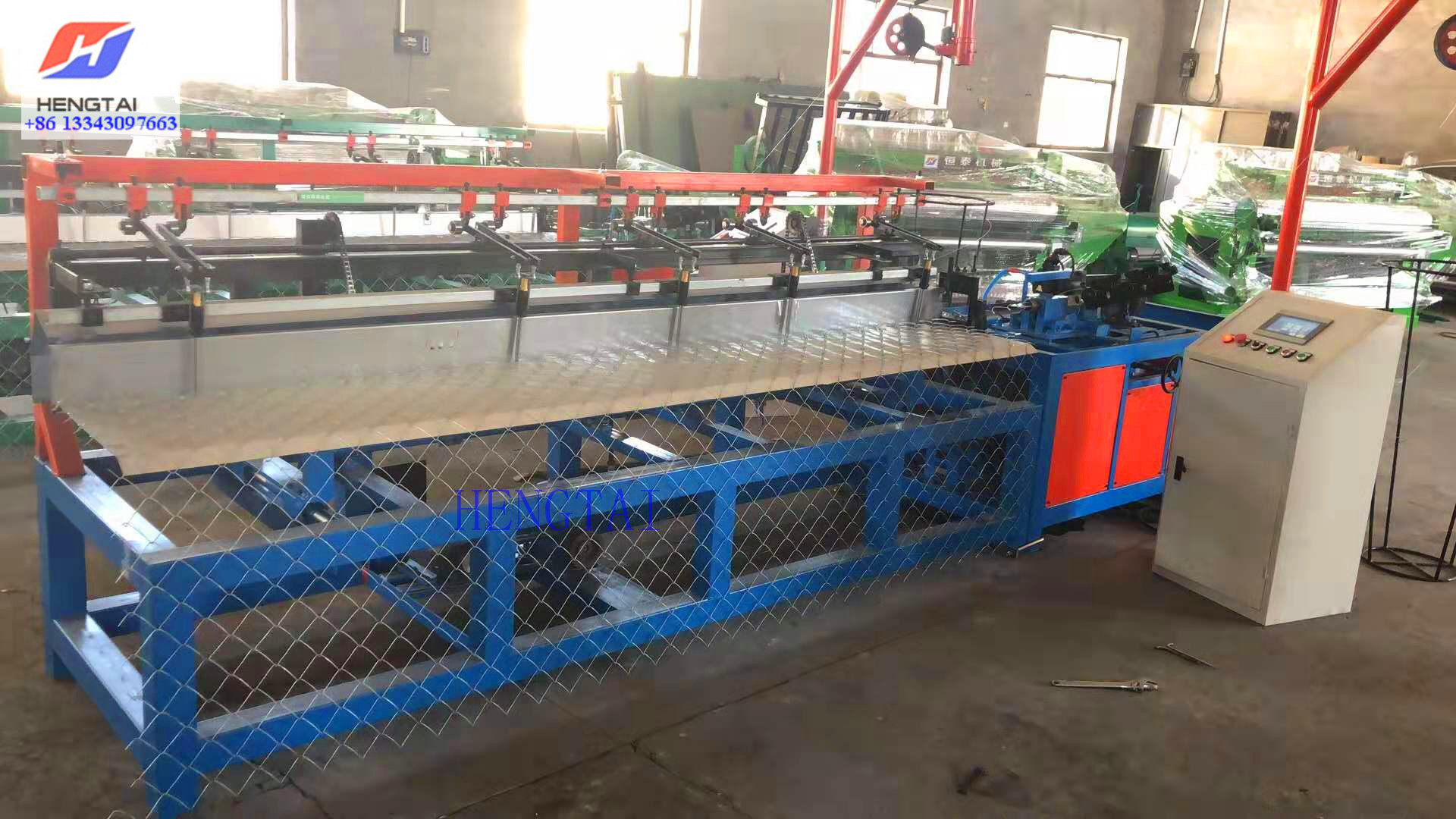 Semi Automatic Chain Link Fencing Machine (2)