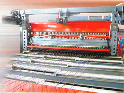 Construction cold ribbed steel bar mesh welding machine