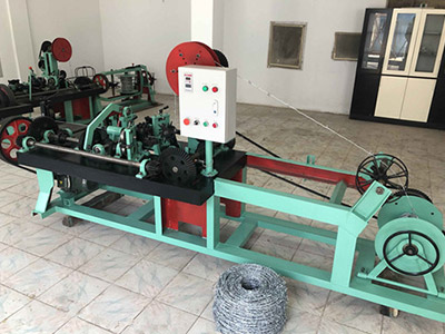 full automatic barbed wire making machine best price on sale